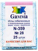 N-359-Gamma Иглы гобеленовые №28/ 25 шт.
