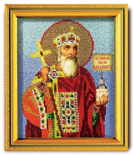 """В-319-ЮК """"Святой Владимир"""" 12х14,5 см"""