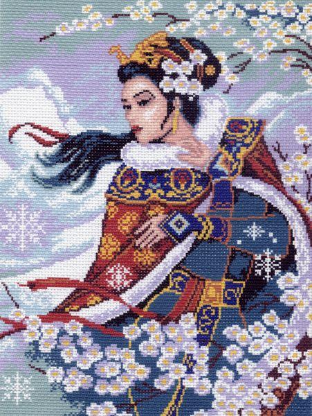 """0373-Матренин Посад """"Восточный цветок"""" 37х49 см"""