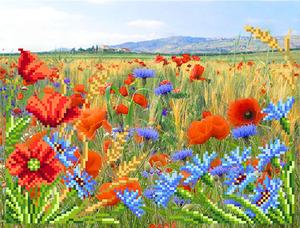 """4121-Матренин Посад """"Полевые цветы"""" 28х34 см"""