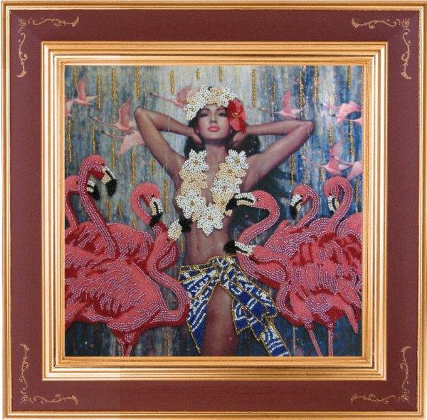 "СА-413 ""Танец фламинго"" 27х28 см"