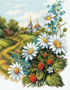 """43-12-Чудесная игла """"Милые сердцу"""" 20х26 см"""