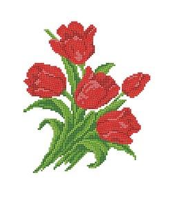 "4511-Матренин Посад ""Тюльпаны"" 28х34 см"