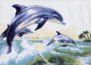 """0456-Матренин Посад """"Дельфин"""" 37х49 см"""