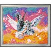 """522-Butterfly """"Голубки"""" 27х32 см"""