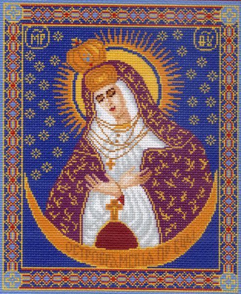 "0535-Матренин Посад ""Богородица Остробрамская"" 37х49 см"