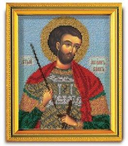"""В-323-ЮК """"Святой Иоанн Воин"""" 12х14,5 см"""