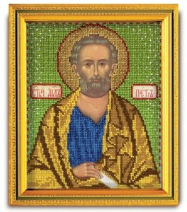 "В-332-ЮК ""Святой апостол Петр"" 12х14,5 см"