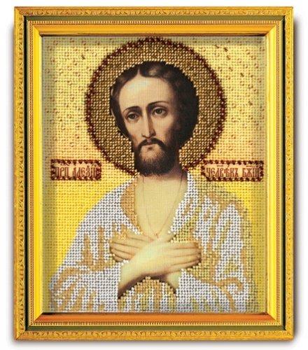 """В-321-ЮК """"Святой Алексий Человек Божий"""" 12х14,5 см"""