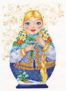 "6-04-Алиса  ""Матрёшки. Весна-красна"" 19х26 см"
