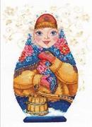 "6-07-Алиса  ""Матрёшки. Зимняя краса"" 19х26 см"