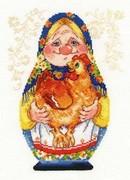 """6-09-Алиса """"Бабуля"""" 16х22 см"""