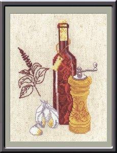 "485-Овен ""Кухонная миниатюра № 1"" 15х20 см"