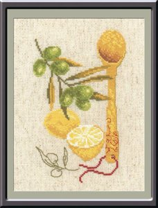 "487-Овен ""Кухонная миниатюра № 3"" 15х20 см"