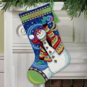 "71-09143-Dimensions ""Счастливый снеговик"" дл. 41 см"