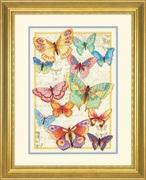 "35338-70-Dimensions ""Красота бабочек"" 25х35,5 см"