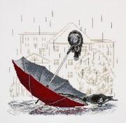"718-Овен ""Грустный зонтик"" 25х23 см"