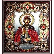 """77-И-33 """"Святой Дмитрий Донской"""" 14,5х16,5 см"""