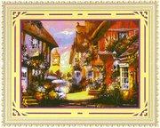 "7858-TBYst ""Цветочная улица"" (мозаика) 85х65 см"