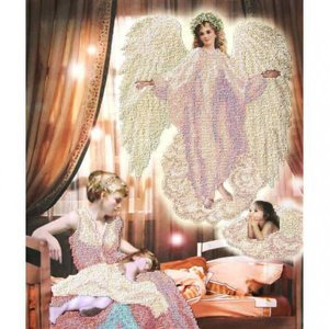 "81211-КиТ ""Ангел сна 2"" 37,3x46,5 см"