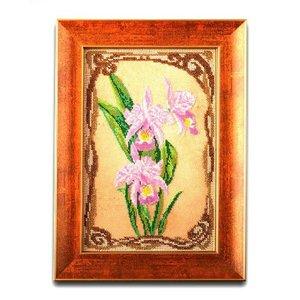 """В-416-ЮК """"Грациозные орхидеи"""" 17х26 см"""