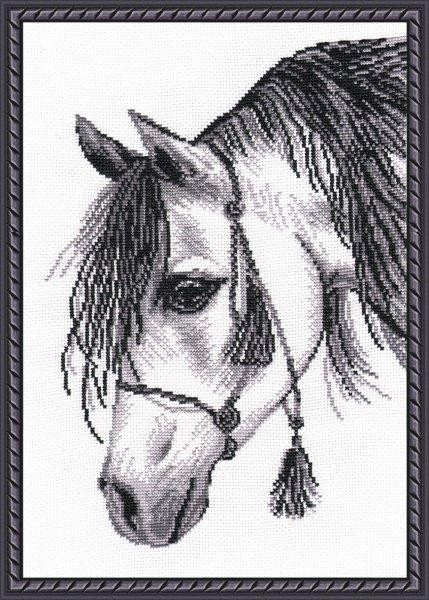 """571-Овен  """"Лошадь-графика"""" 22х30 см"""