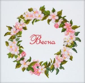 """854-Овен """"Весна"""" 21х33 см"""