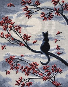 "865-Овен ""Лунный кот"" 23х29 см"