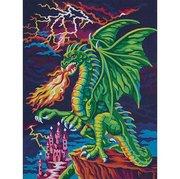"73-91479-Dimensions ""Логово дракона"" 23х31см"