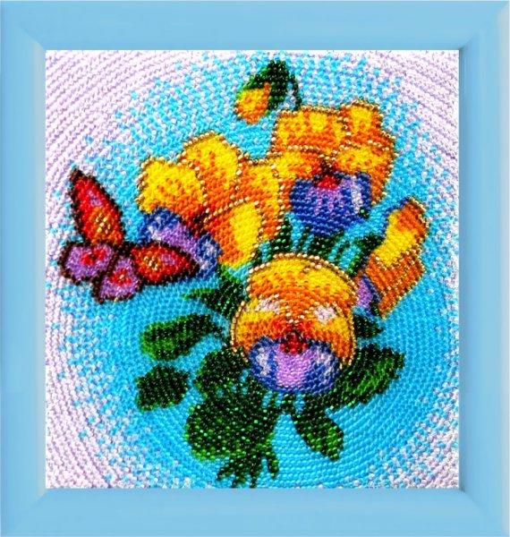 "931-Butterfly ""Букетик"" 17х12 см"