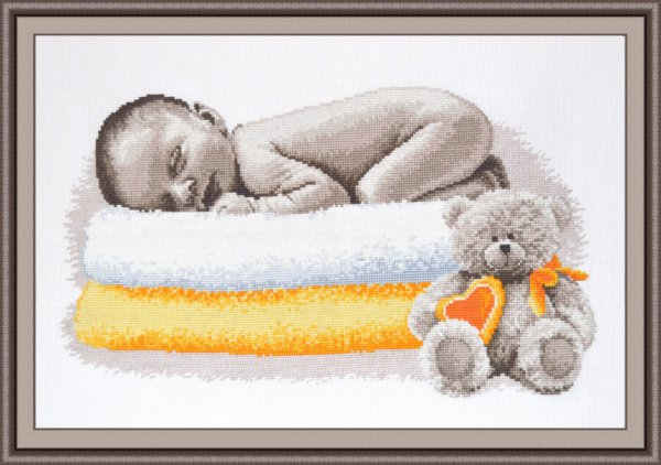 """633-Овен """"Сон младенца"""" 40х22 см"""