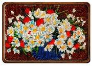 """B-094-Вышиваем бисером """"Полевые цветы"""" 19х12 см"""