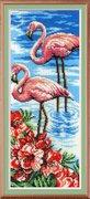"""БГ-181-МП-Студия """"Фламинго"""" 40х15 см"""