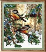 """БГ-233-МП-Студия """"Птички в лесу"""" 28х23 см"""