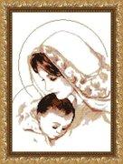"VKA3004А-Арт Соло ""Дева Мария с младенцем"" 29х38 см"