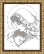 "VKA3004В-Арт Соло ""Дева Мария с младенцем"" 29х38 см"