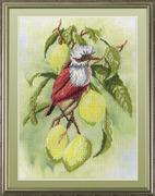 "РК-301-МП-Студия ""Птичка на ветке лимона"" 20х30 см"