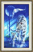 """РТ109-Золотое Руно """"Белый тигр"""" 40х24 см"""