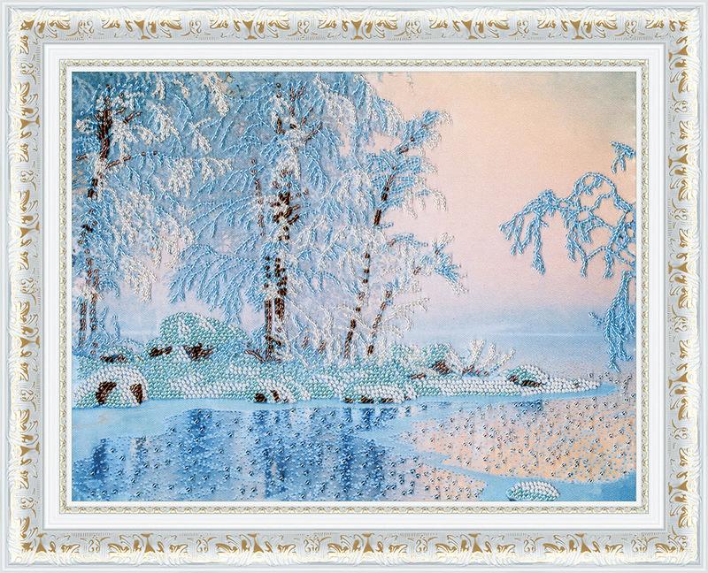 """РТ149-Золотое Руно """"Голубое озеро"""" 24,6х31, см"""