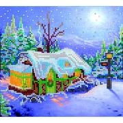 """АС-016-Абрис Арт """"Рождество"""" 20x18 см"""