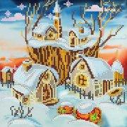 "АС-038-Абрис Арт ""Волшебная зима"" 20x20 см"