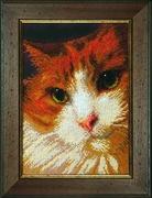 "Б-733-Чаривна мить ""Рыжий кот"" 16,5х24 см"