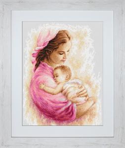 """В536-Luca's """"Мать и дитя"""" 21х27 см"""