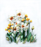 "0941Ц-Панна ""Нарциссы и лютики"" 10,5х12 см"