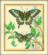 """С-131-РТО """"Тандем бабочек""""  20х23 см"""