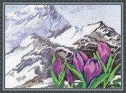 """0952Ц-Panna """"Альпийские цветы"""" 28х21 см"""