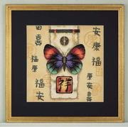 "35034-Dimensions ""Восточная бабочка"" 25х25 см"