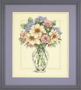 "35228-Dimensions ""Цветы в высокой вазе"" 30х36 см"