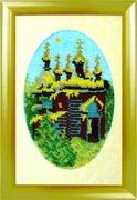 """К-004-Картины Бисером """"Летний день"""" 15х20 см"""