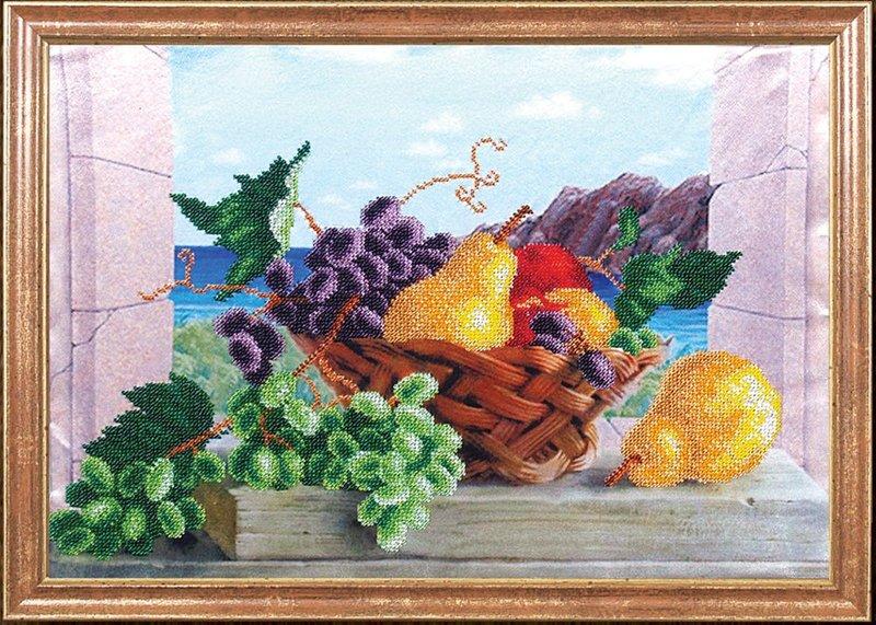 "КС-005-МК ""Груши с виноградом"" 39х27 см"